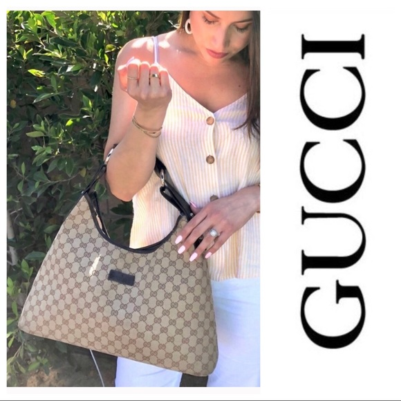 Gucci Handbags - 100%Authentic GUCCI Hobo Bag purse